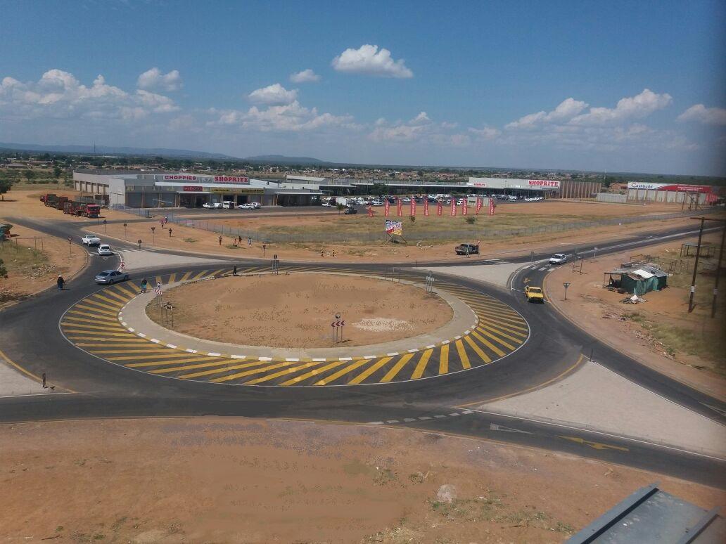 Mall@Siya SANRAL Road upgrades - Location: Moutsiya South AfricaService:Project Cost: R 10 000 000.00