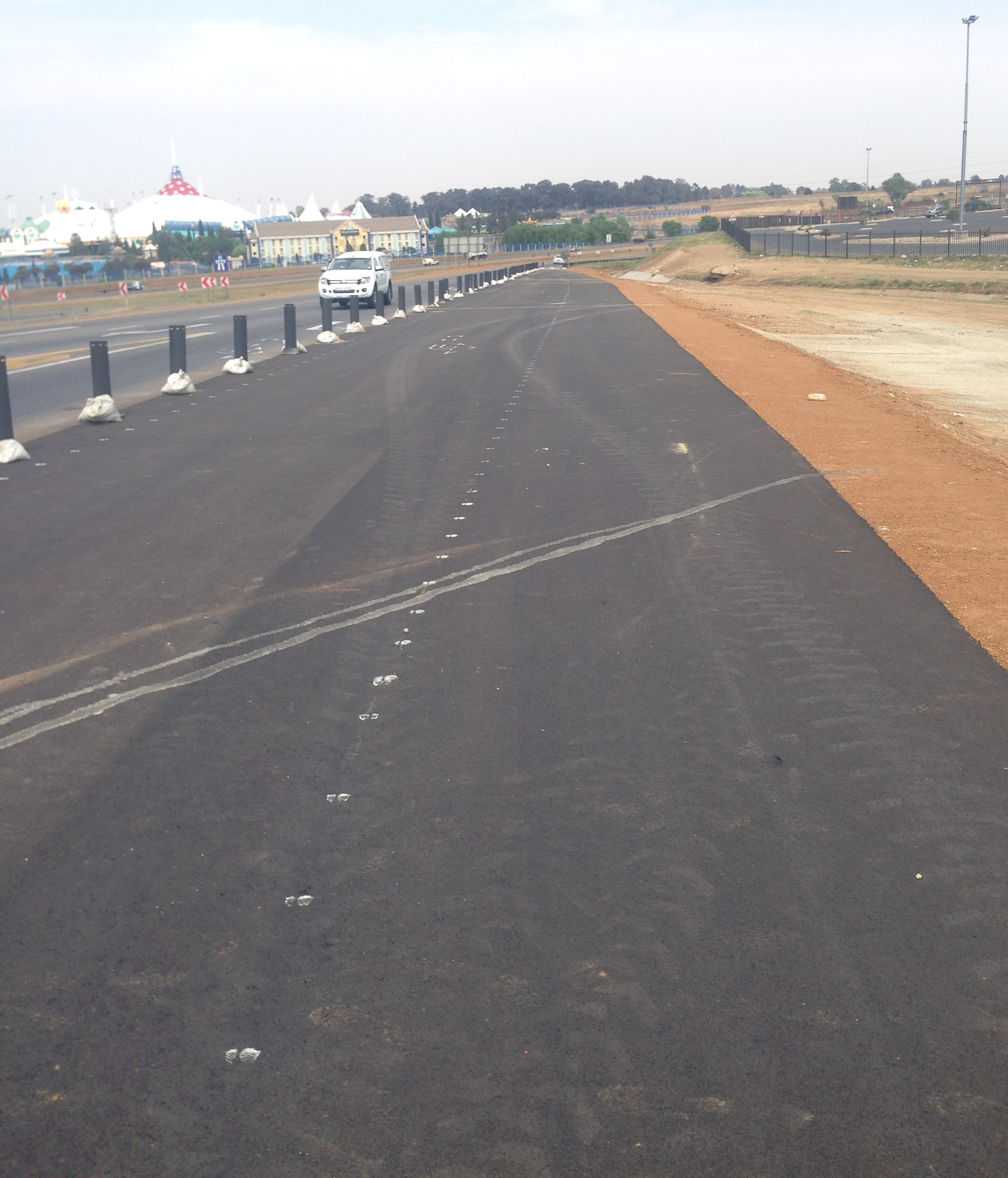 Mall@Carnival SANRAL & Gautrans upgrades - Location: Benoni South AfricaService: CivilProject Cost: R 5 000 000.00