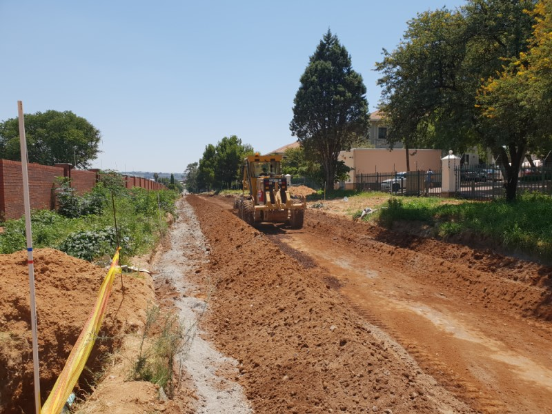 Vorna Valley - Location: Midrand South AfricaService: CivilProject Cost: R 5 000 000.00