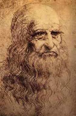 Leonardo Davinci Self Portrait