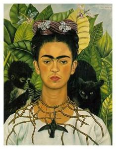 Self Portrait Frida Kahlo