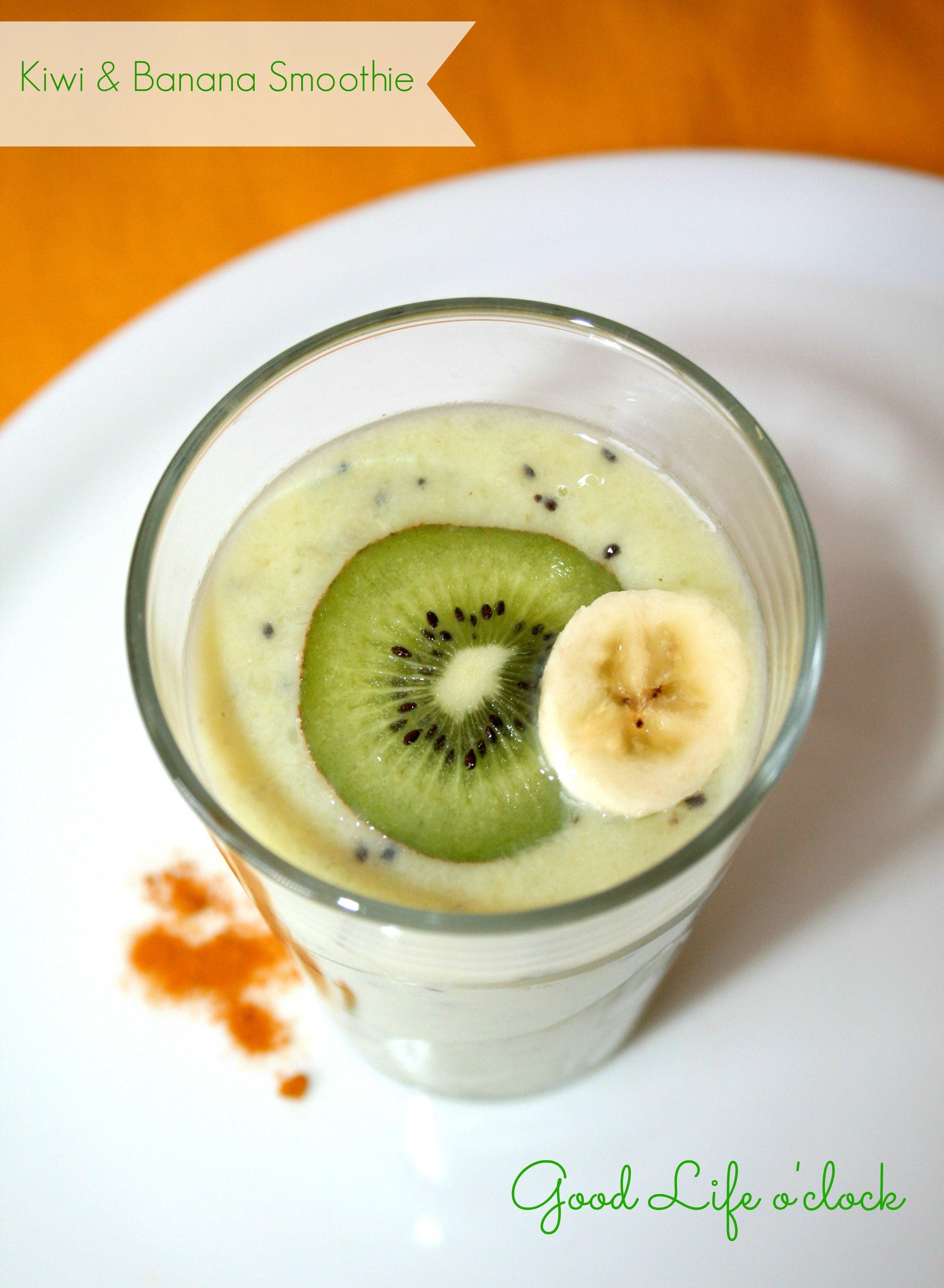 Kiwi & Banana Smoothie
