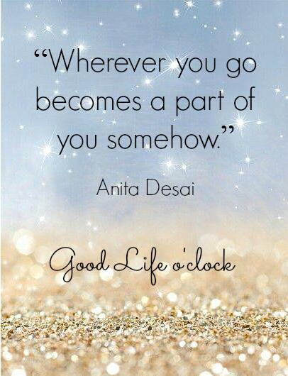 Travel quote Anita Desai