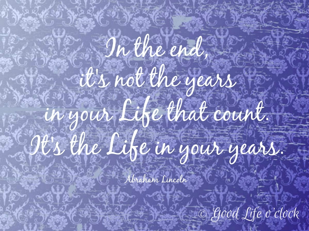 Life Quote Lincoln