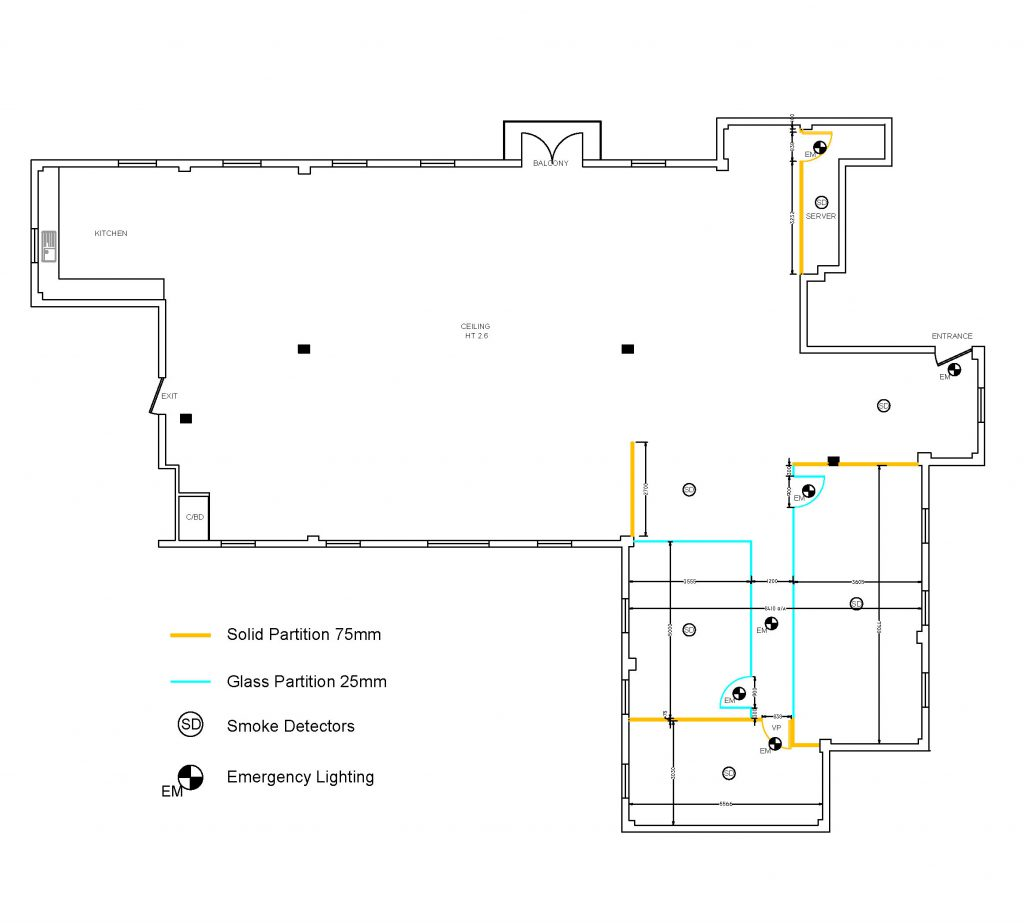 Site survey and space planning - London IT sector-3