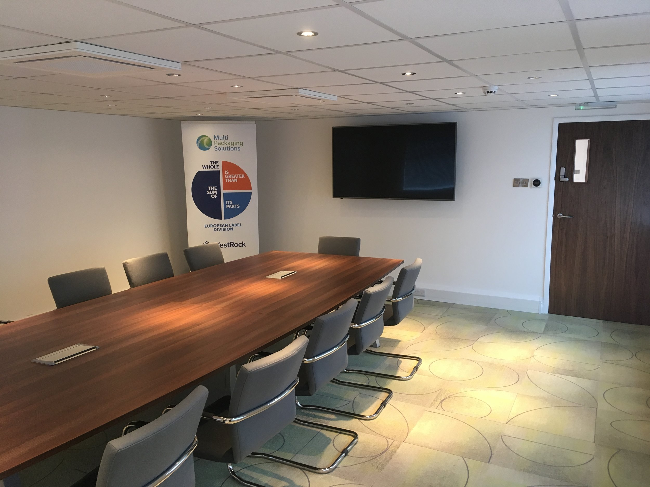 Office remodelling - design and refit - Littlehampton manufacturing sector-6