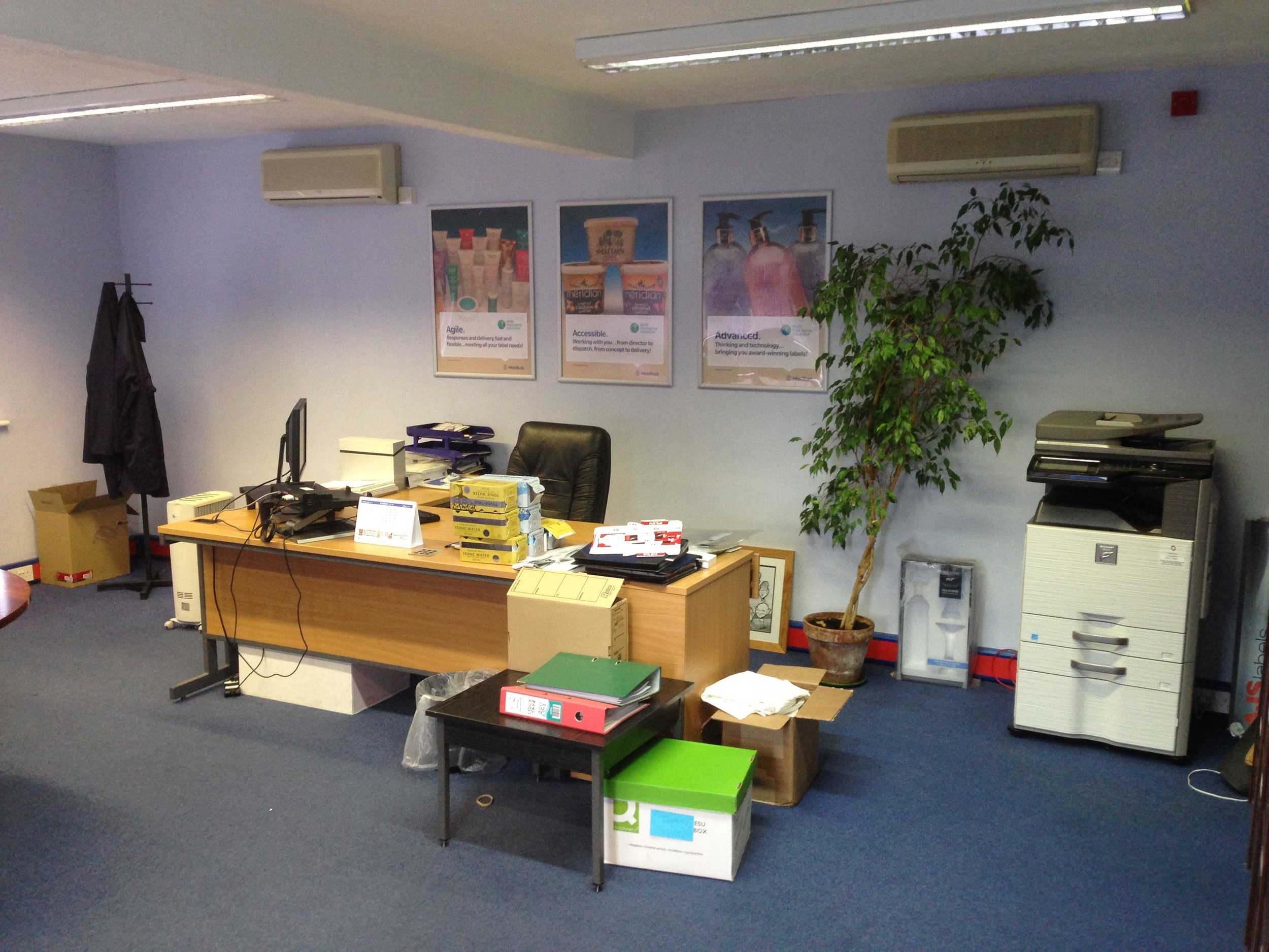 Office remodelling - design and refit - Littlehampton manufacturing sector-17