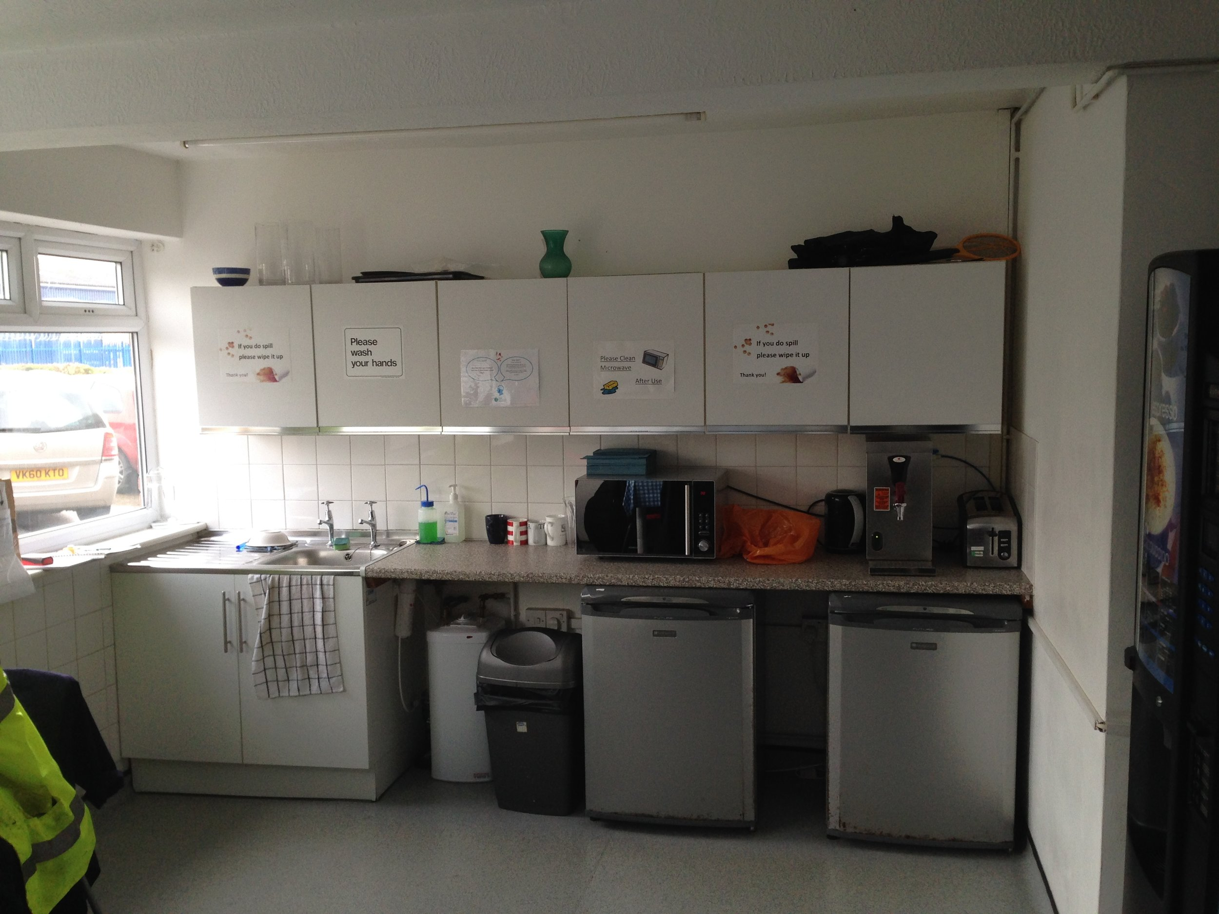 Office remodelling - design and refit - Littlehampton manufacturing sector-19