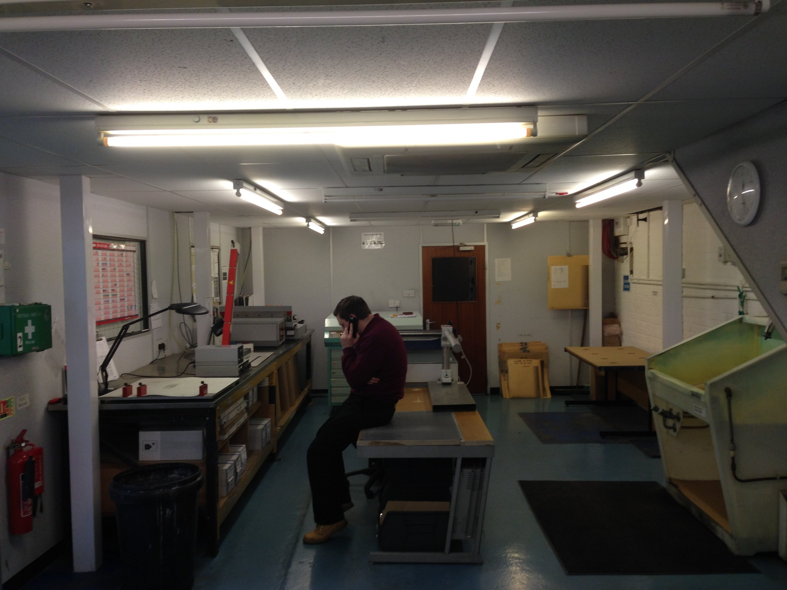 Office remodelling - design and refit - Littlehampton manufacturing sector-21