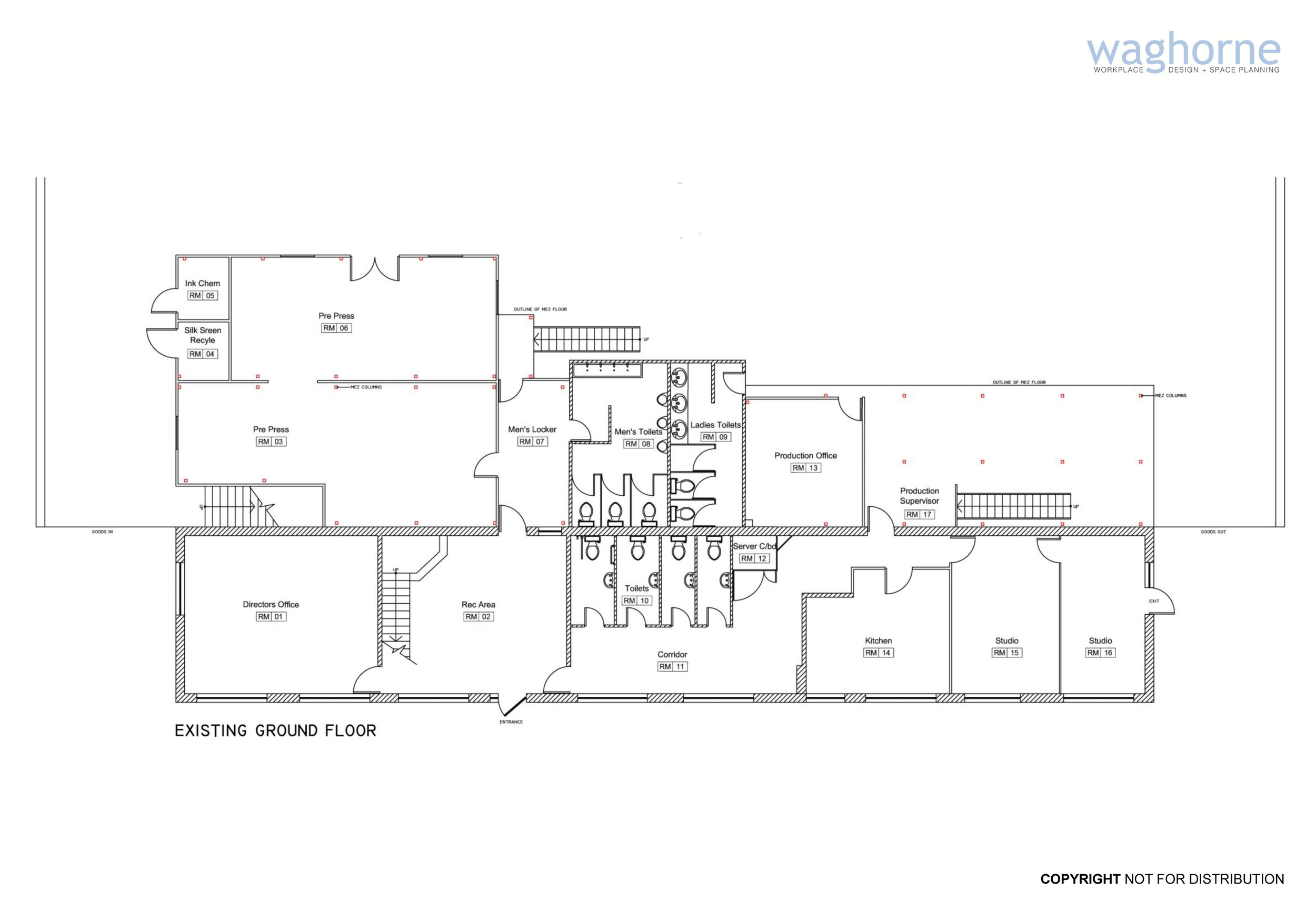 Office remodelling - design and refit - Littlehampton manufacturing sector-22