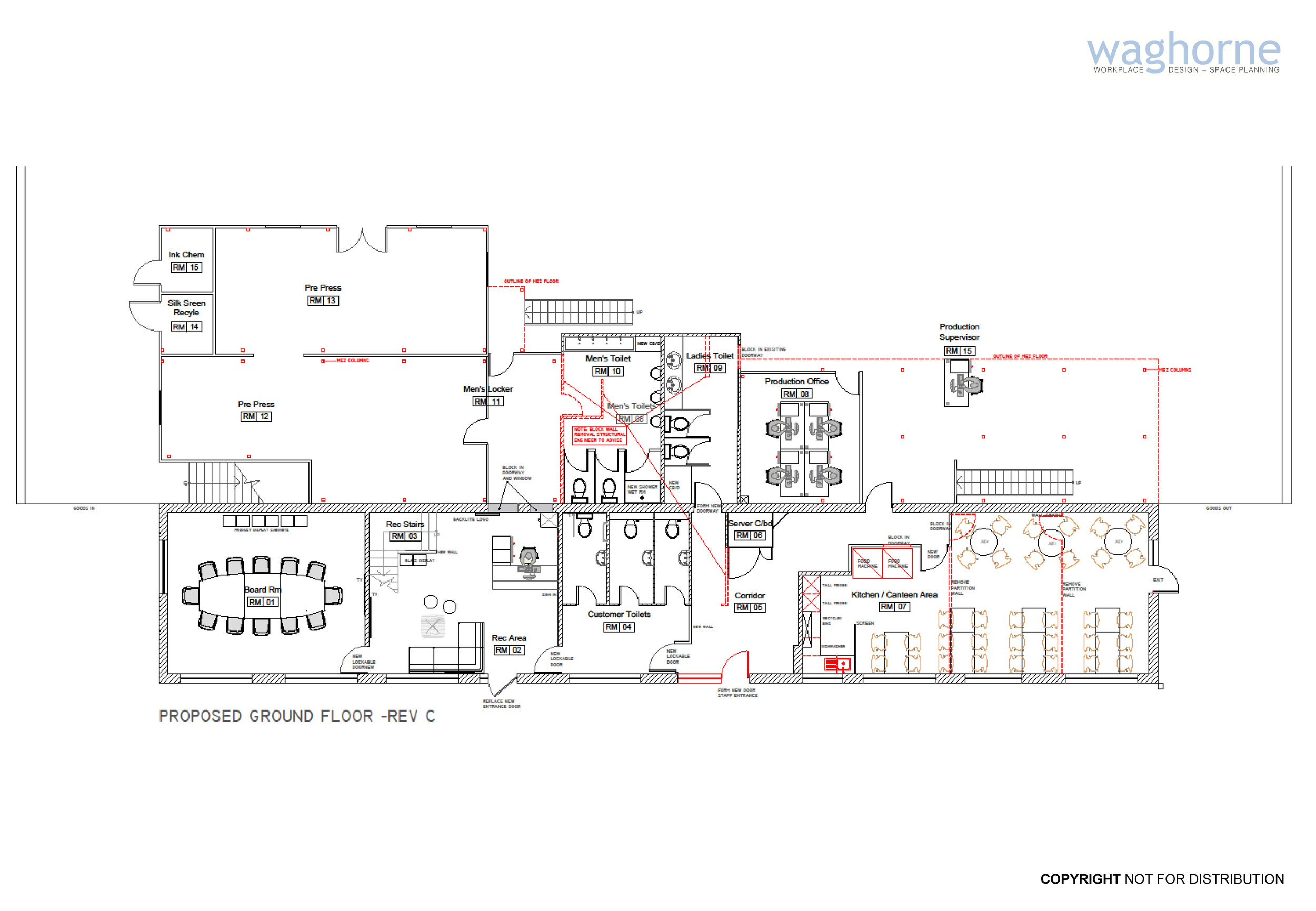 Office remodelling - design and refit - Littlehampton manufacturing sector-24