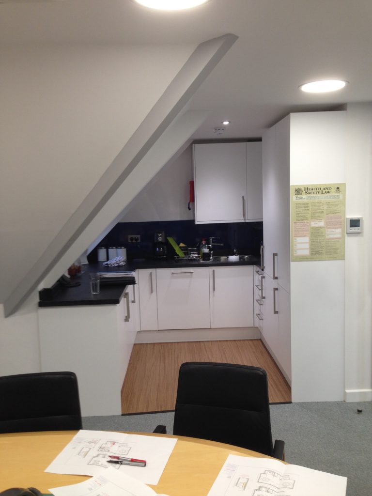 Concept design and office refit - Guildford manufacturing sector-7