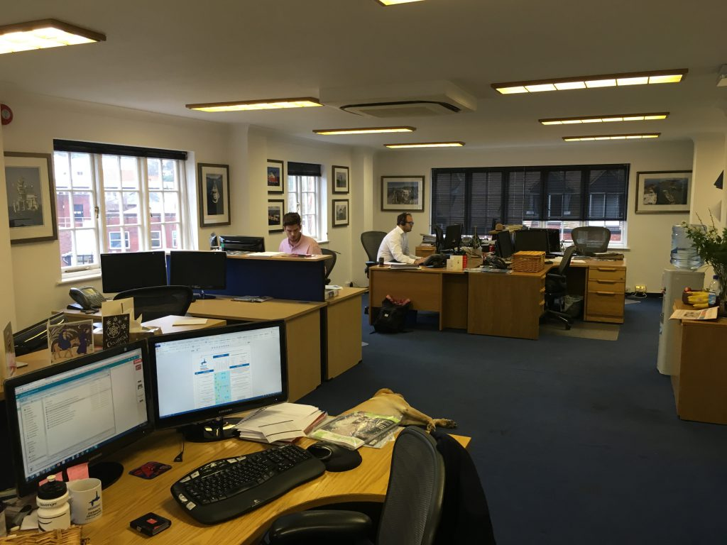 Concept design and office refit - Guildford manufacturing sector-8
