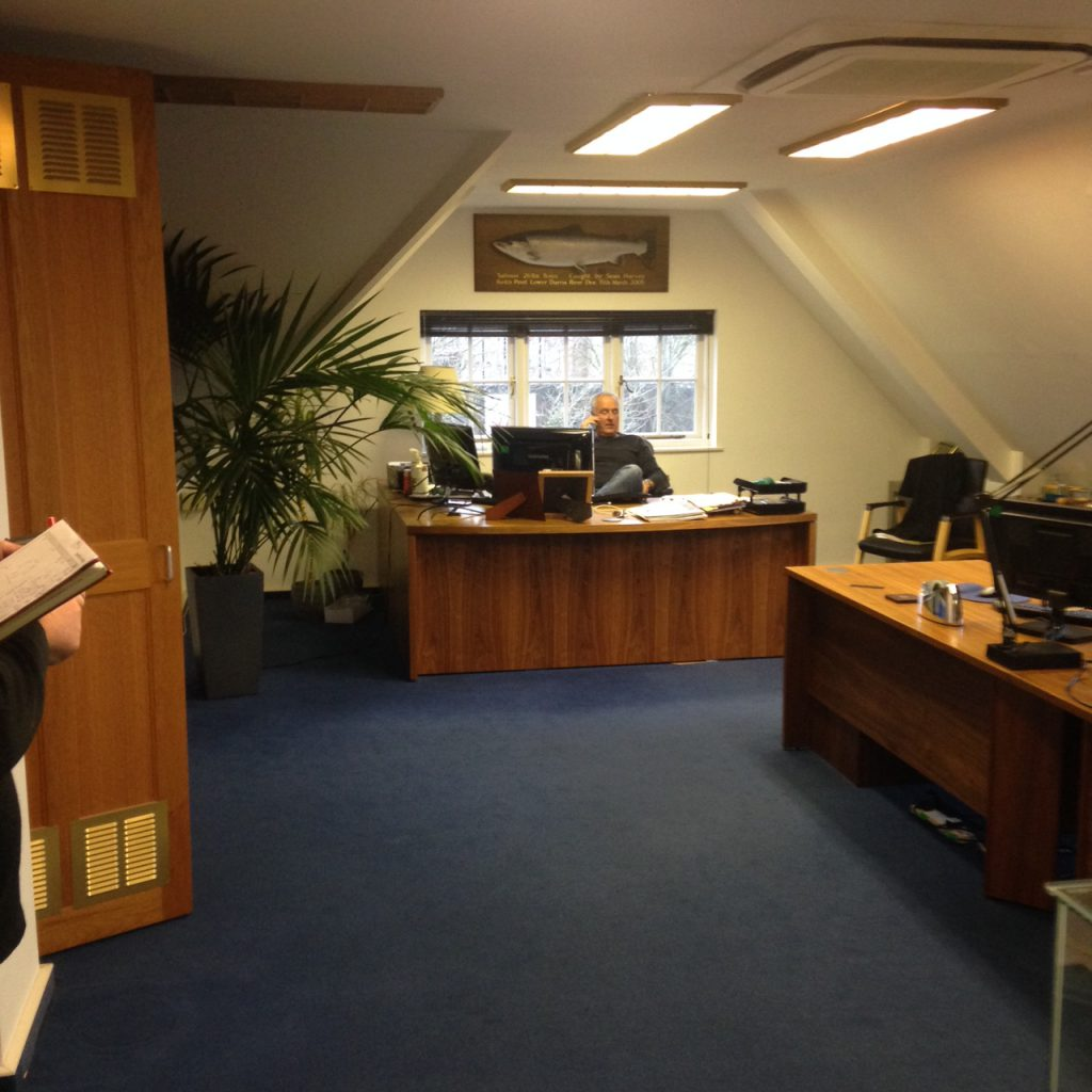 Concept design and office refit - Guildford manufacturing sector-11