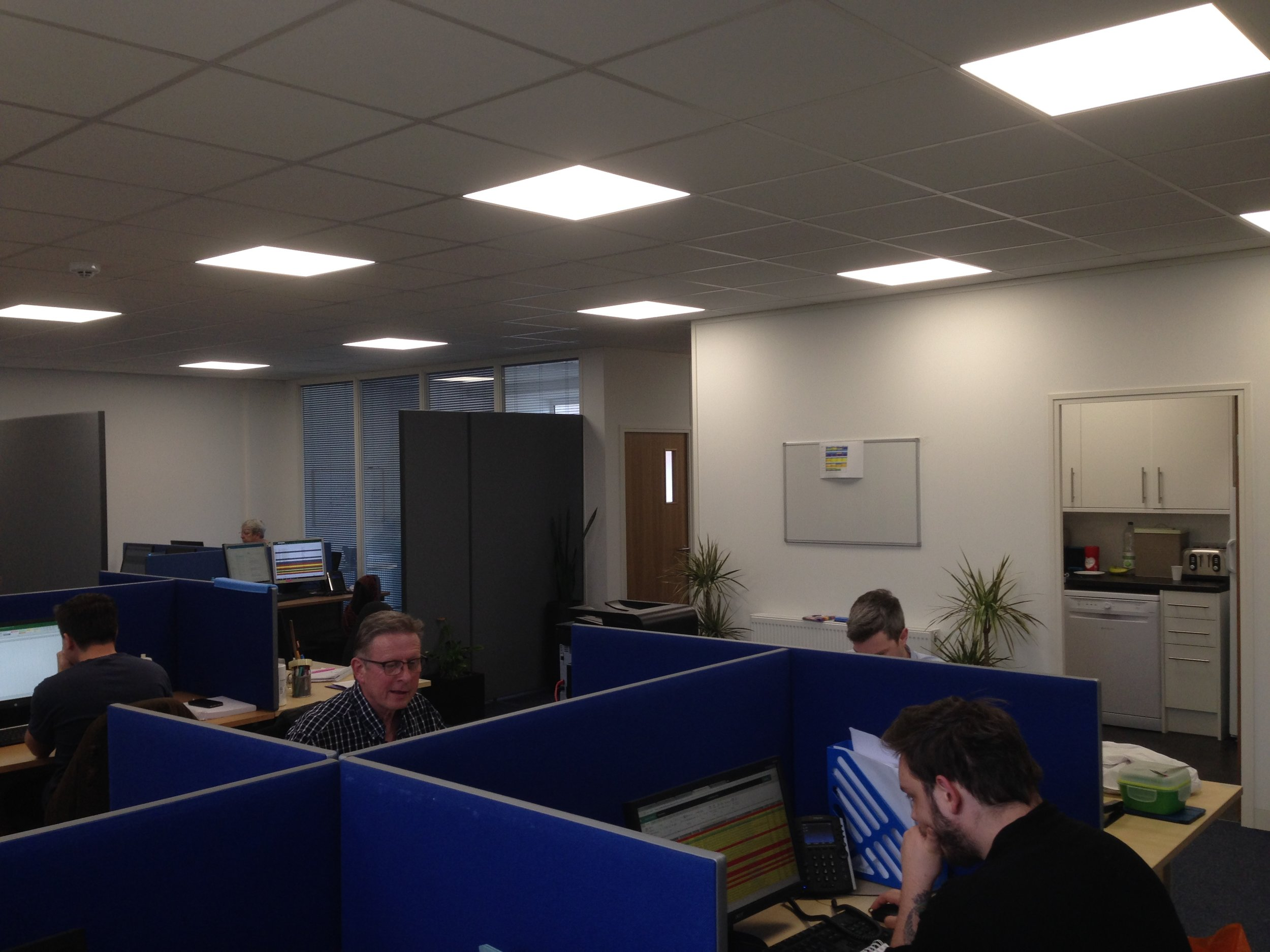 Concept design and office fit-out - Witley marketing sector-1