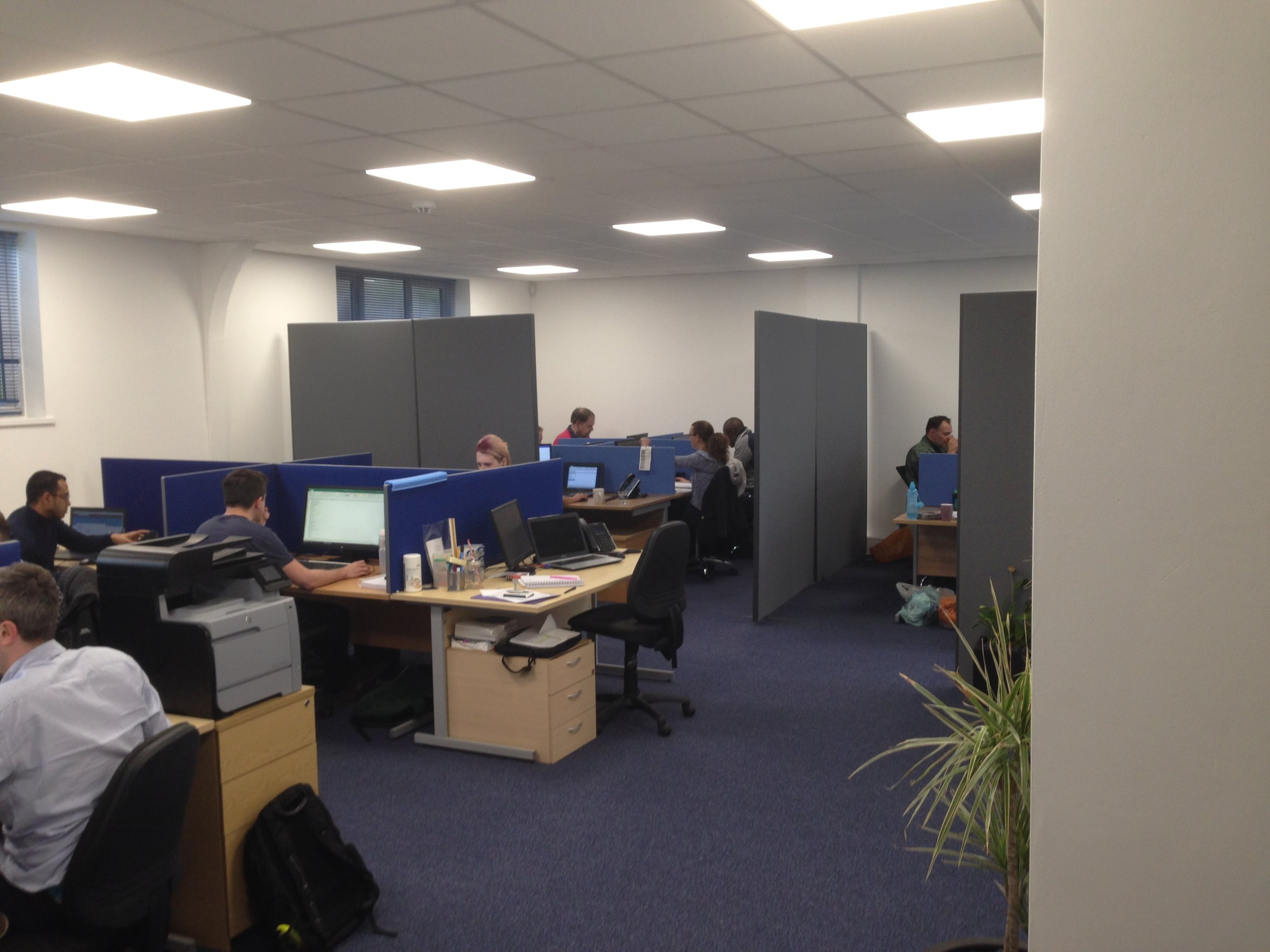Concept design and office fit-out - Witley marketing sector-2