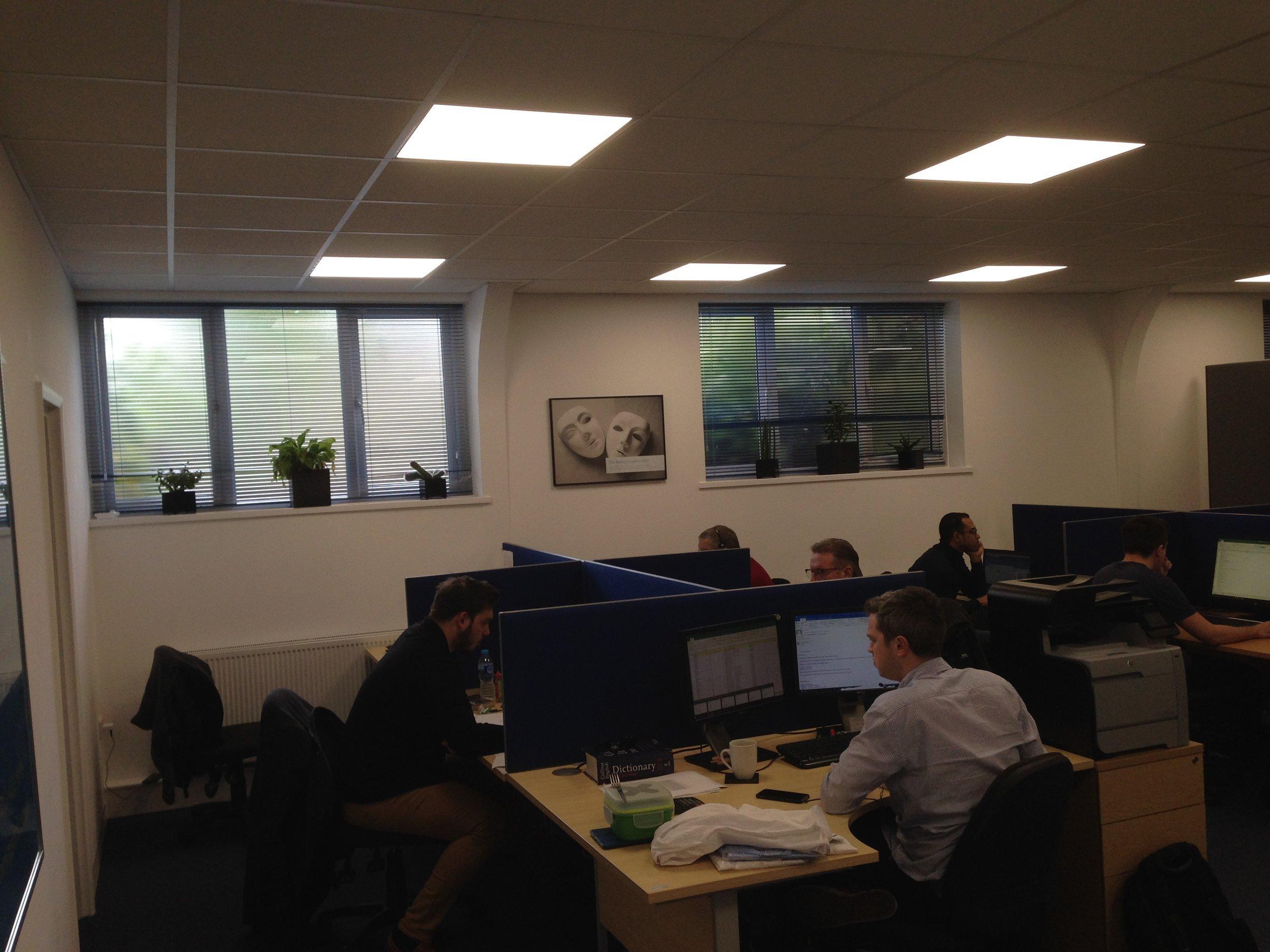 Concept design and office fit-out - Witley marketing sector-10