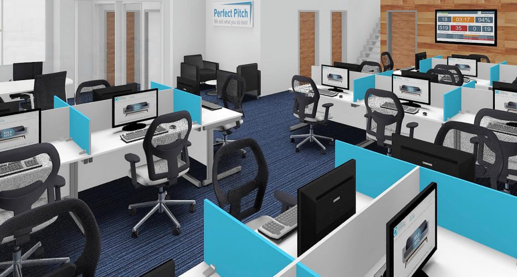 Concept design and office fit-out - Witley marketing sector-12