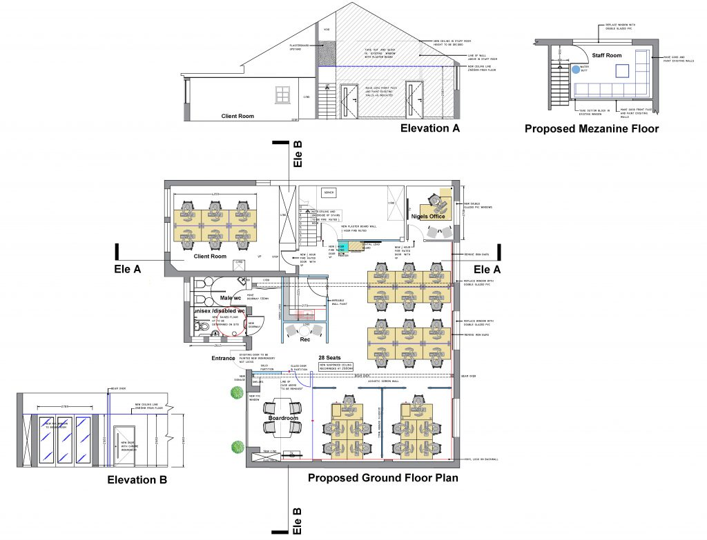 Concept design and office fit-out - Witley marketing sector-13