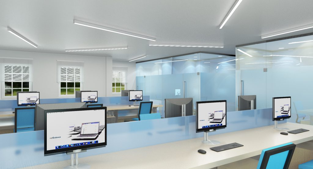 Concept design and 3D visualisation - Surrey IT sector-2