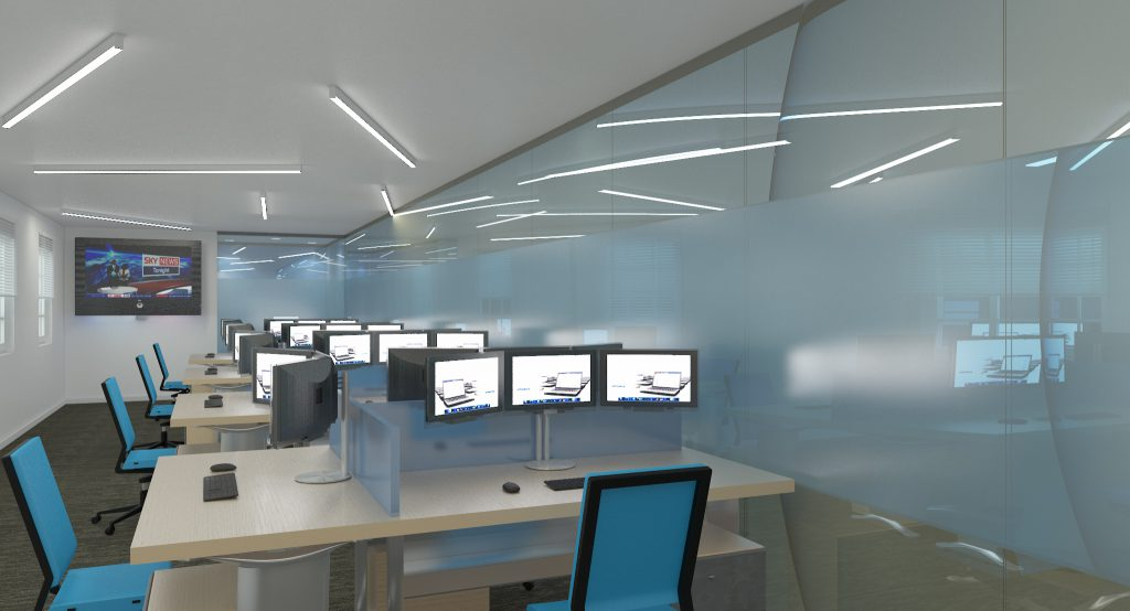 Concept design and 3D visualisation - Surrey IT sector-3