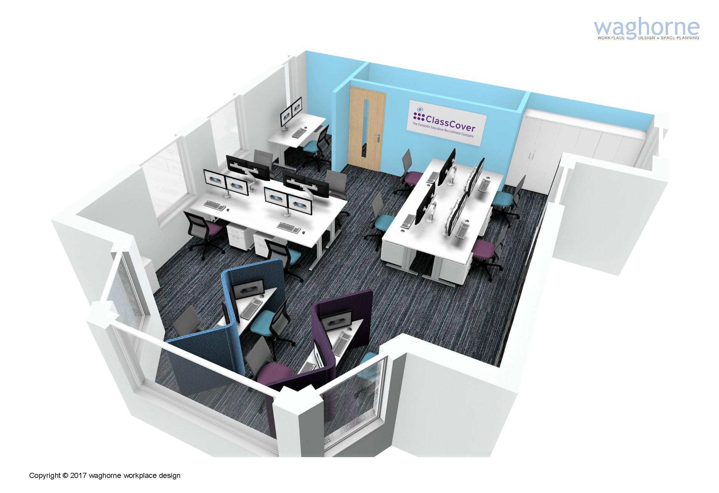 Concept design and branding - Billingshurst recruitment sector-14