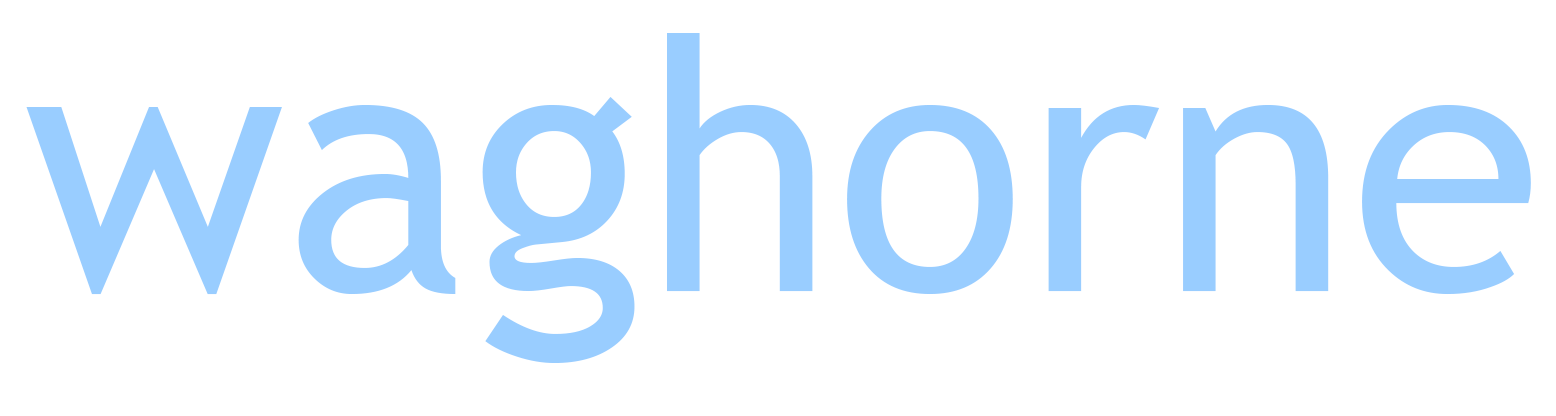 Waghorne logo blue  white PNG.png