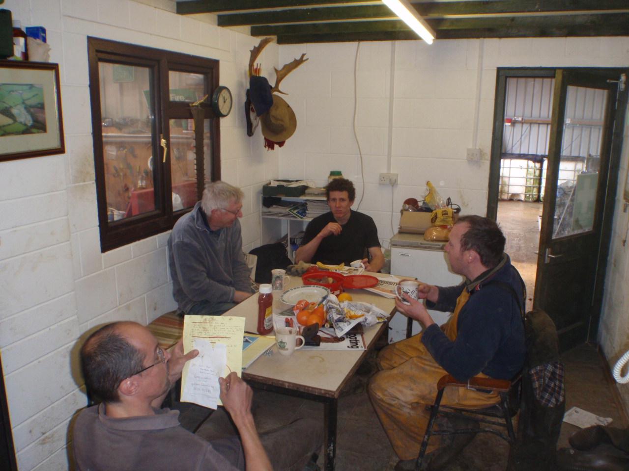 Staff room meeting