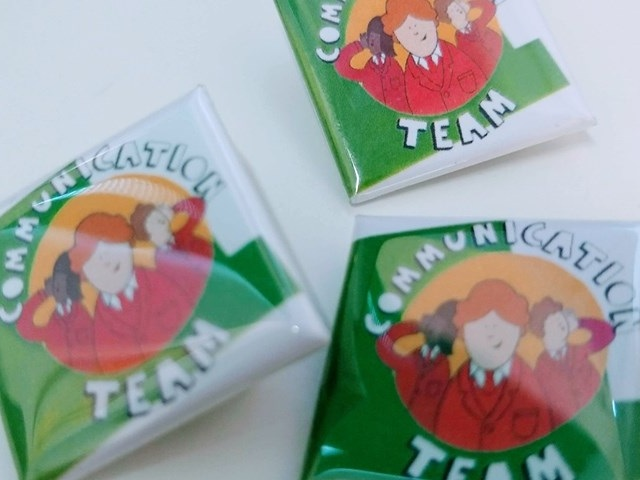 Communication Team Badges - Get your primary or secondary badges here…