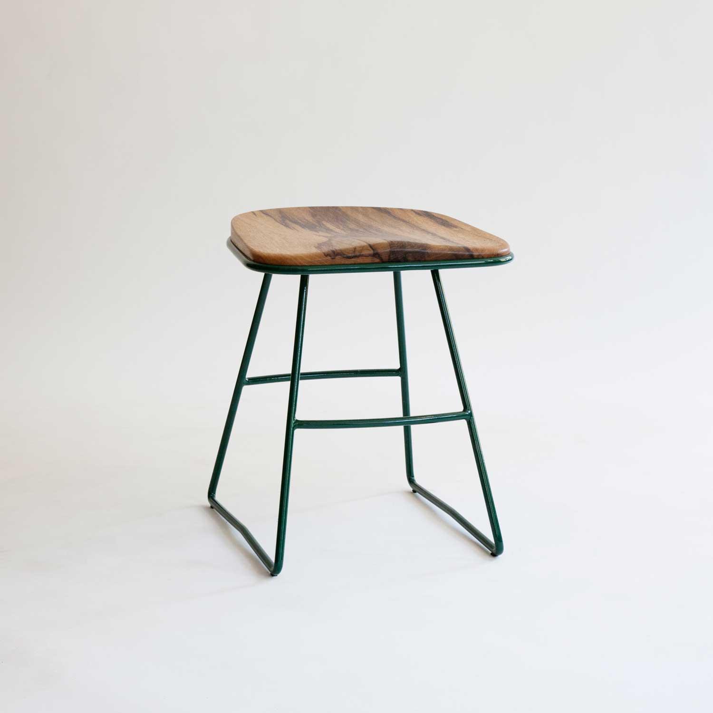 metal-and-wood-low-stool-powdercoated-green.jpg