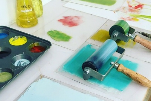 Bespoke & Group Workshops - If you are looking for a fun, creative group activity for family, friends, or your local art group, consider booking a printmaking workshop with me.Ideal for a group of teachers looking for inspiration to take back into the classroom, team building, or in service training.