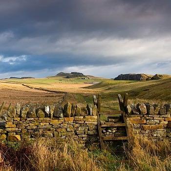 Beautiful hill walking in Northumberland