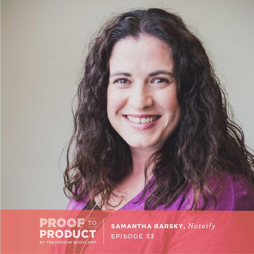 Samantha Barsky, Noteify