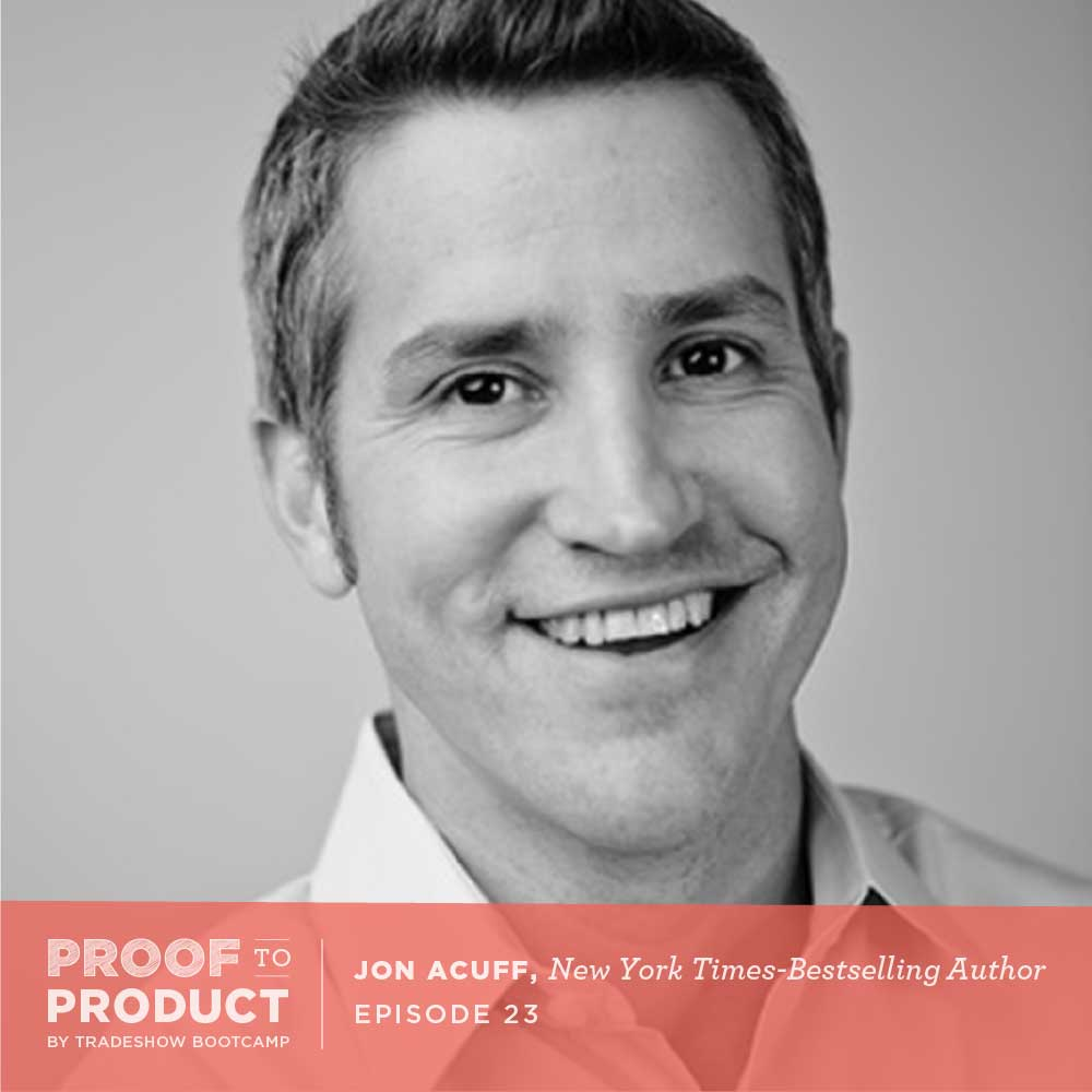 Jon Acuff, new york times best seller