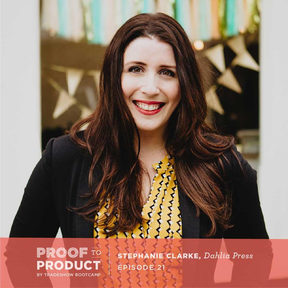 Stephanie Clarke, Dahlia Press