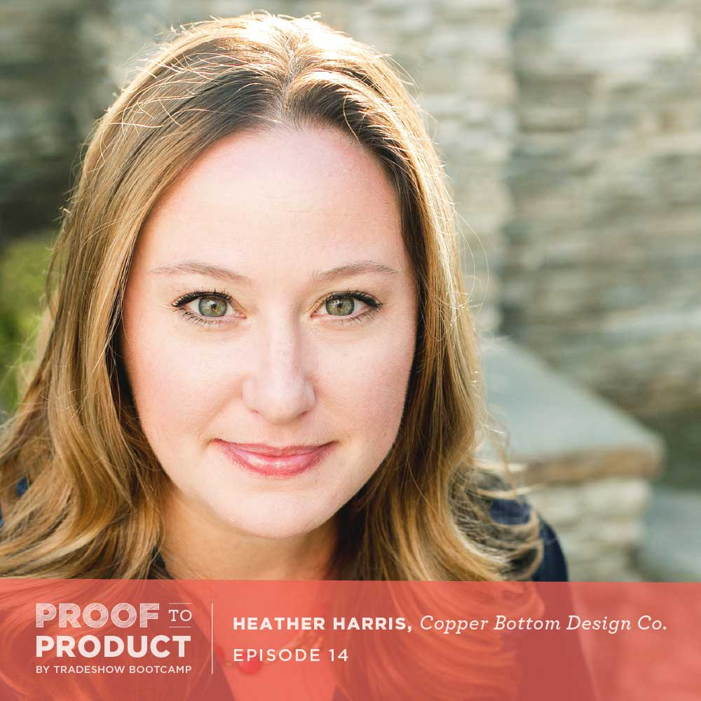 Heather Harris, Copper Bottom Design Co.