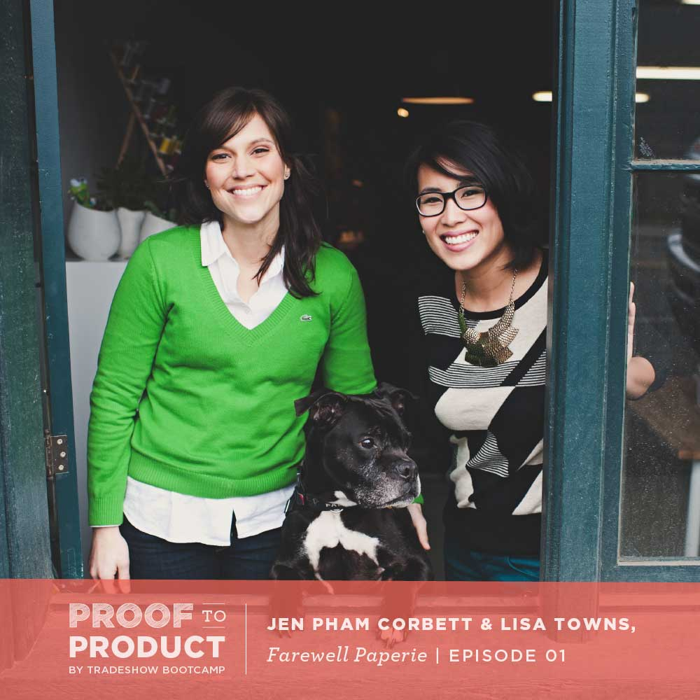 Jen Pham Corbett & Lisa Towns, Farewell Paperie
