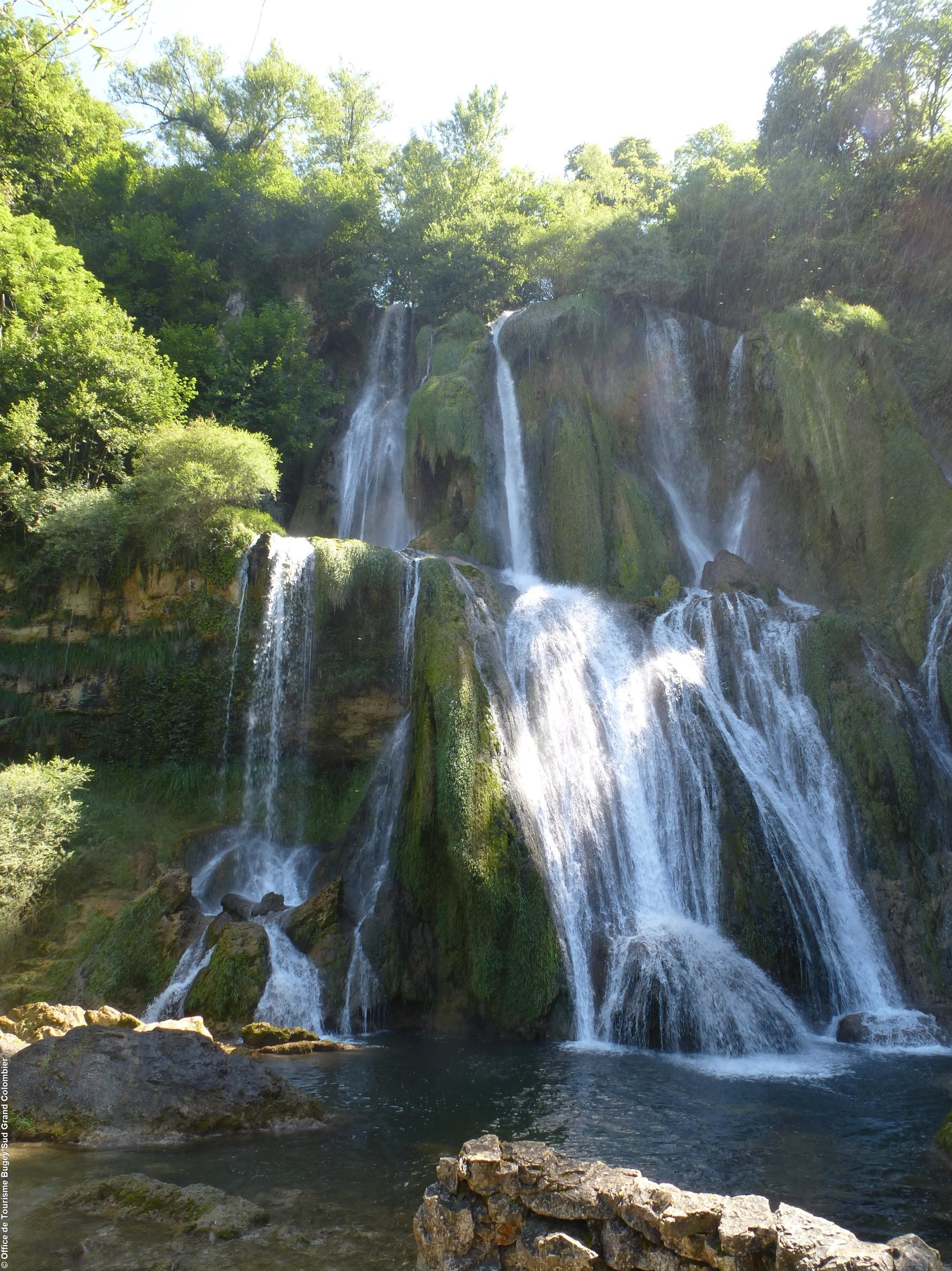 Admirez la cascade de Glandieu