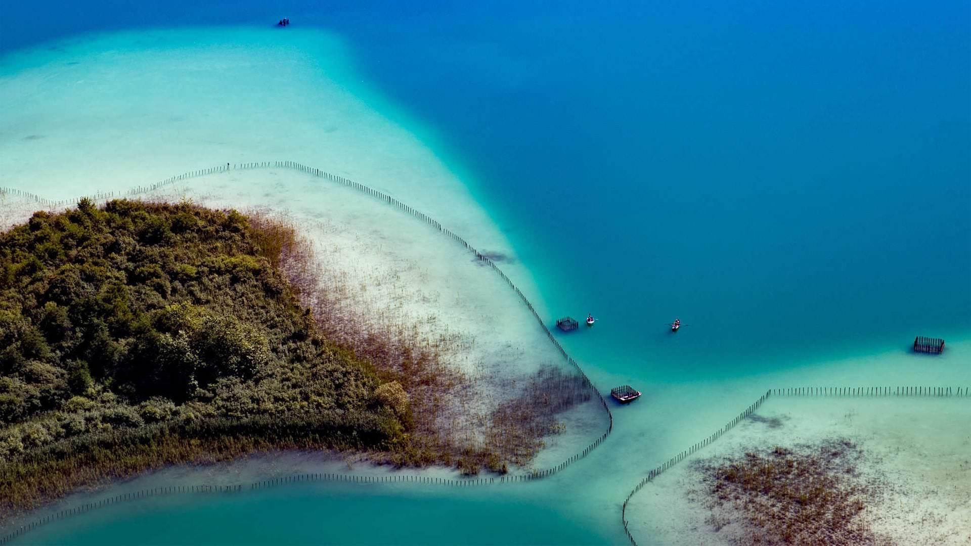 Baignez-vous dans les eaux turquoises du Lac d'Aiguebelette