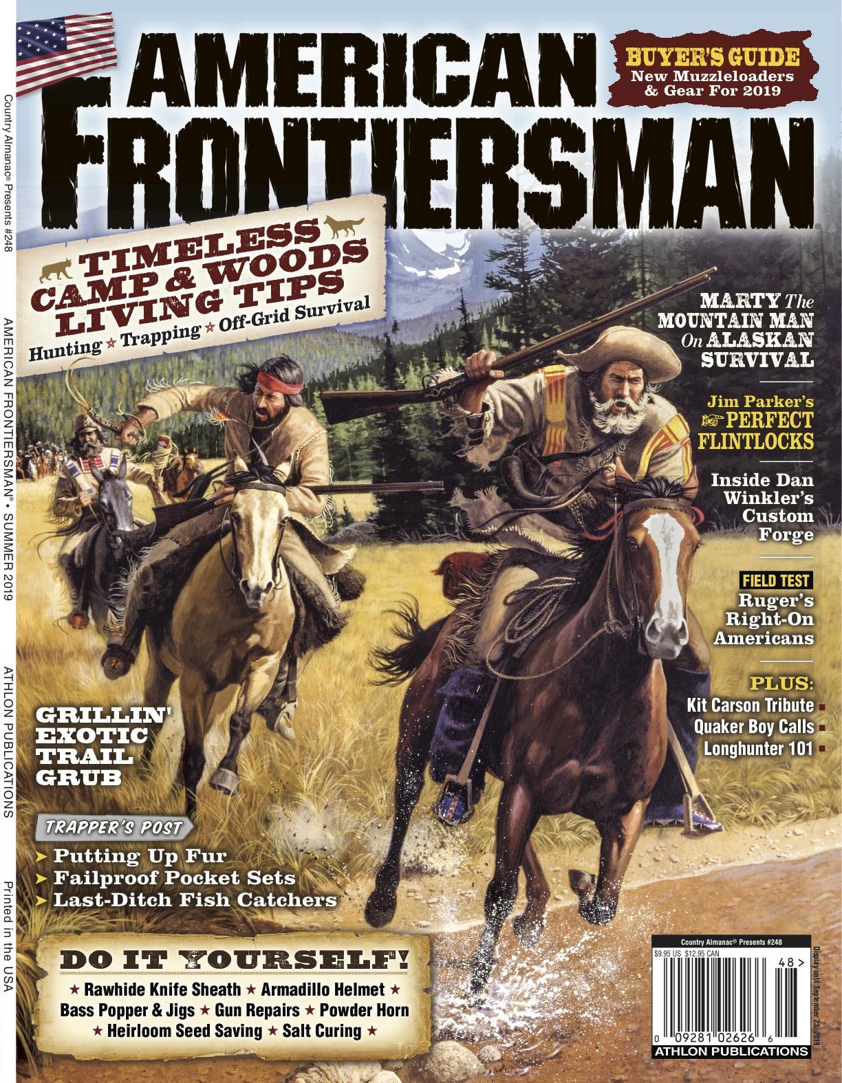 Summer 2019 American Frontiersman Cover