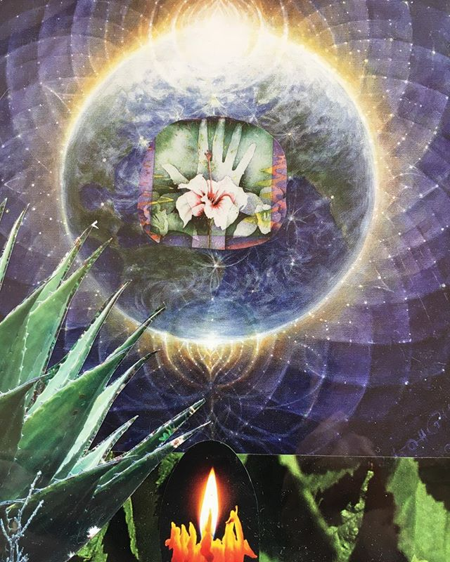 Earth magic is here! Take time to be with it. Take time to be it yourself, earthling!