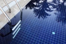 Pool tile inspection