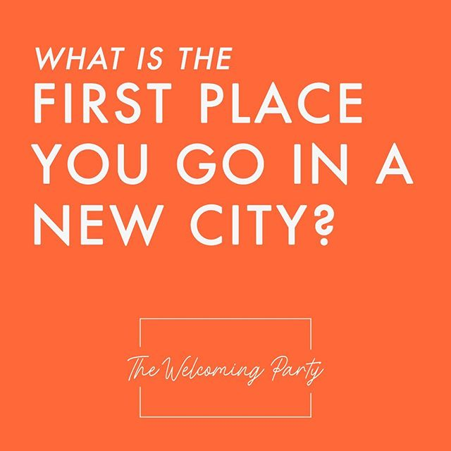 With six months under our belts, we're exploring new ways to make Cincinnati as welcoming as possible: for instance, trying to meet new Cincinnatians where they are. So... where might that be? What early hangouts did YOU frequent when you went somewhere new? #cincinnati #friendship #thewelcomingparty #yourewelcome