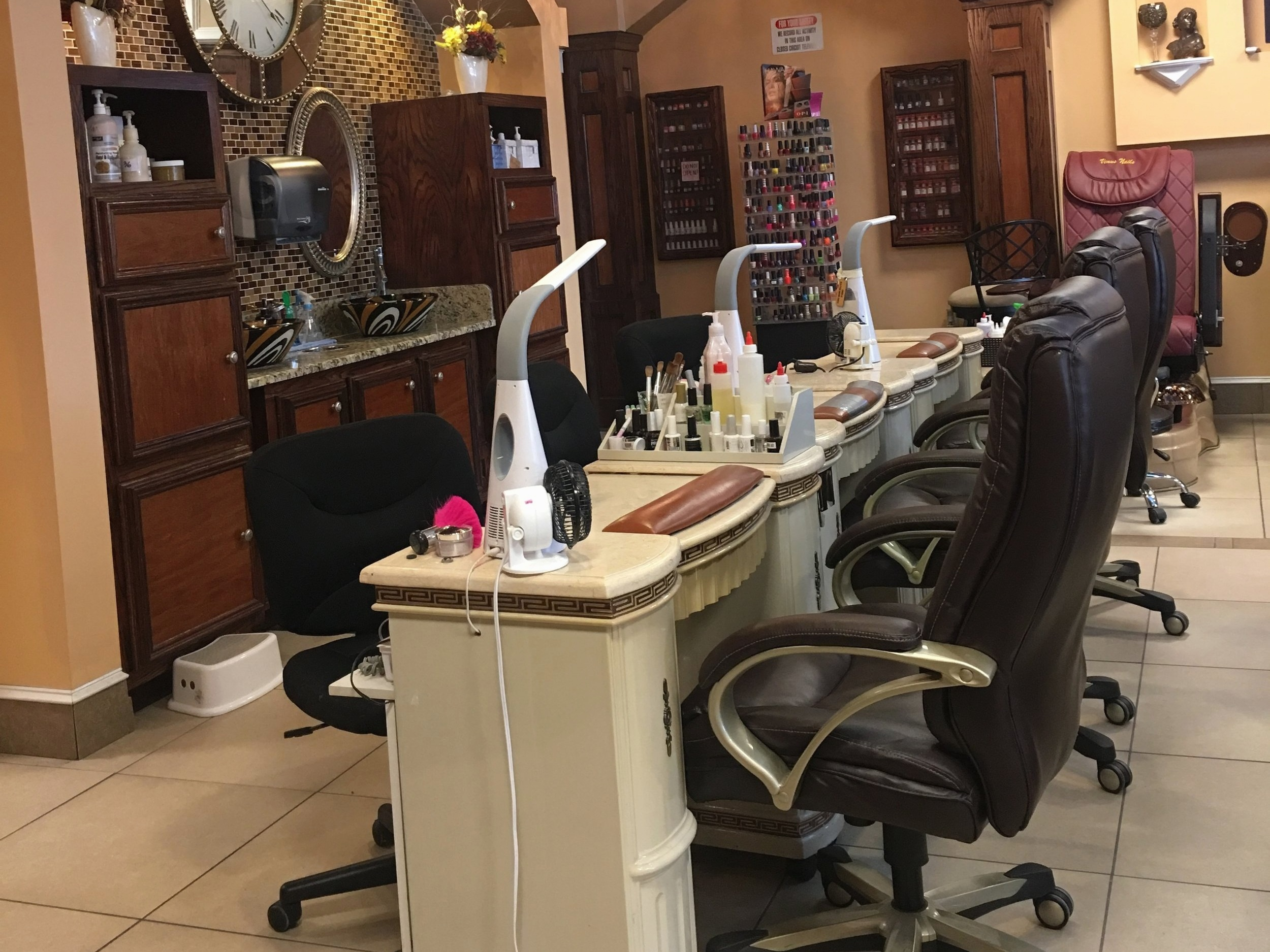 Nail Enhancement - We provide a variety of nail enhancements such as, acrylic/gel, dip powder, pink and white, ombre, and chrome nails. This also ranges from $27-$45 (excluding fills).WE NOW OFFER DIPPING POWDER