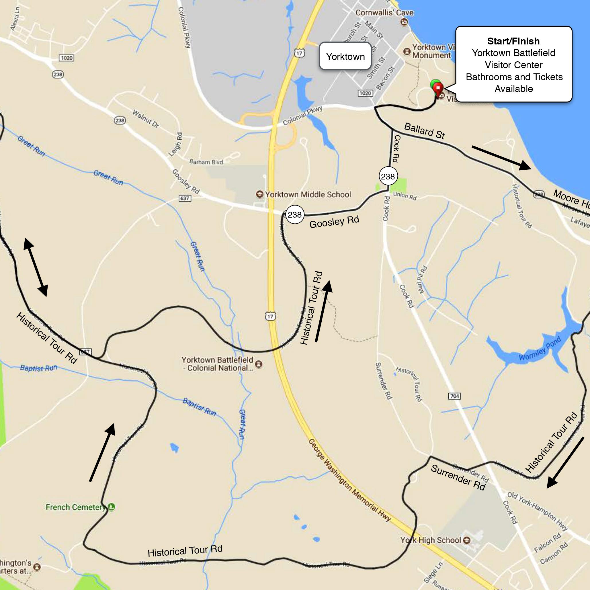 Yorktown Battlefield Loop Map & Cues-1.jpg