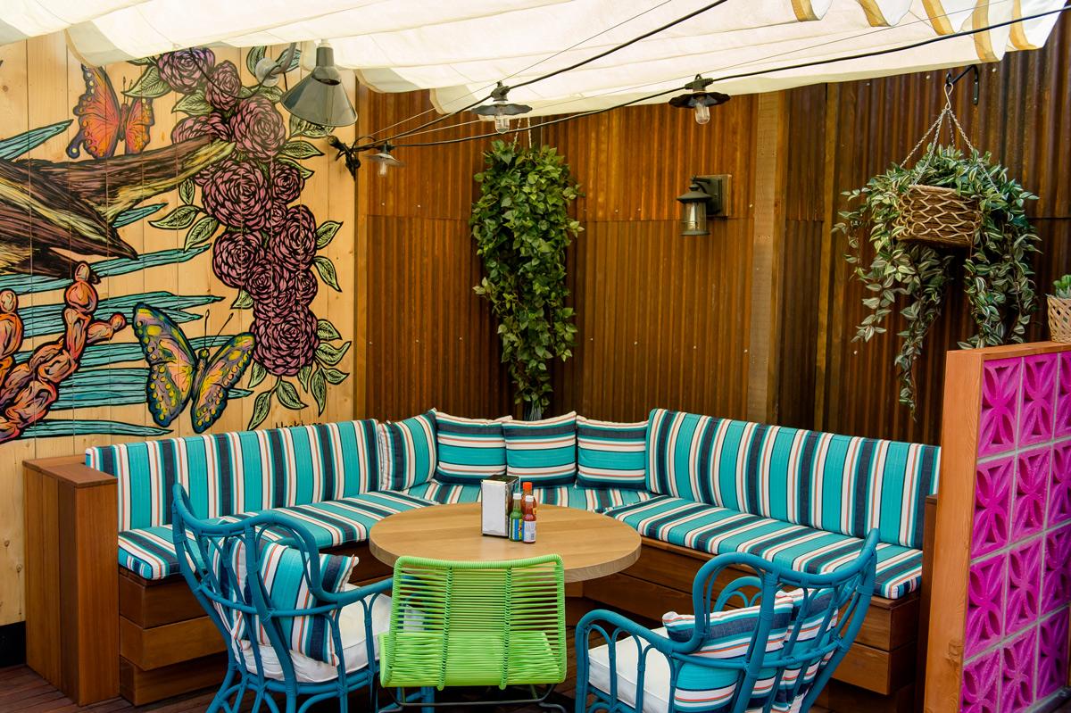 Best Mexican Rooftop Patio Restaurant Banff