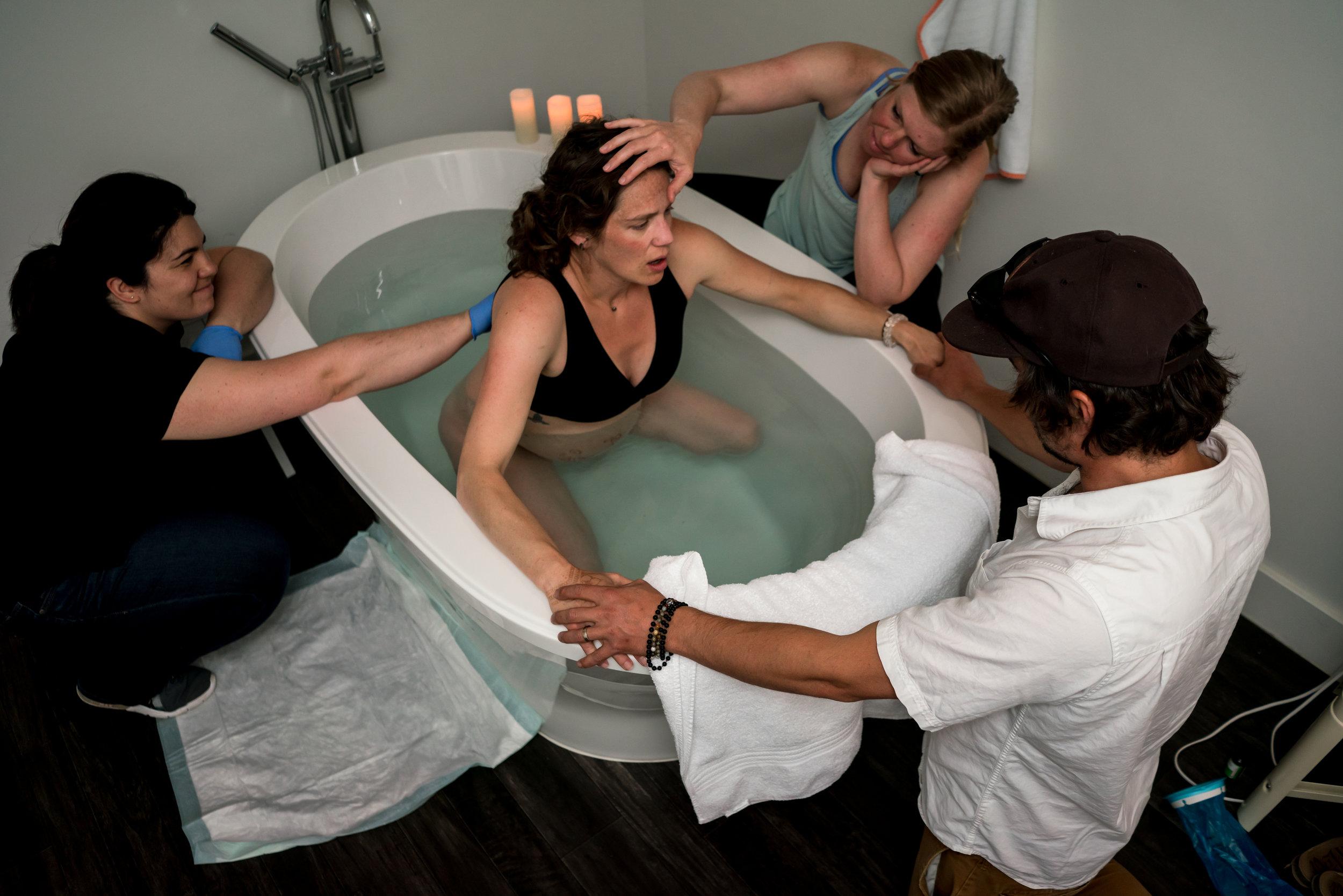 Water Birth Boulder Birth Center Labor
