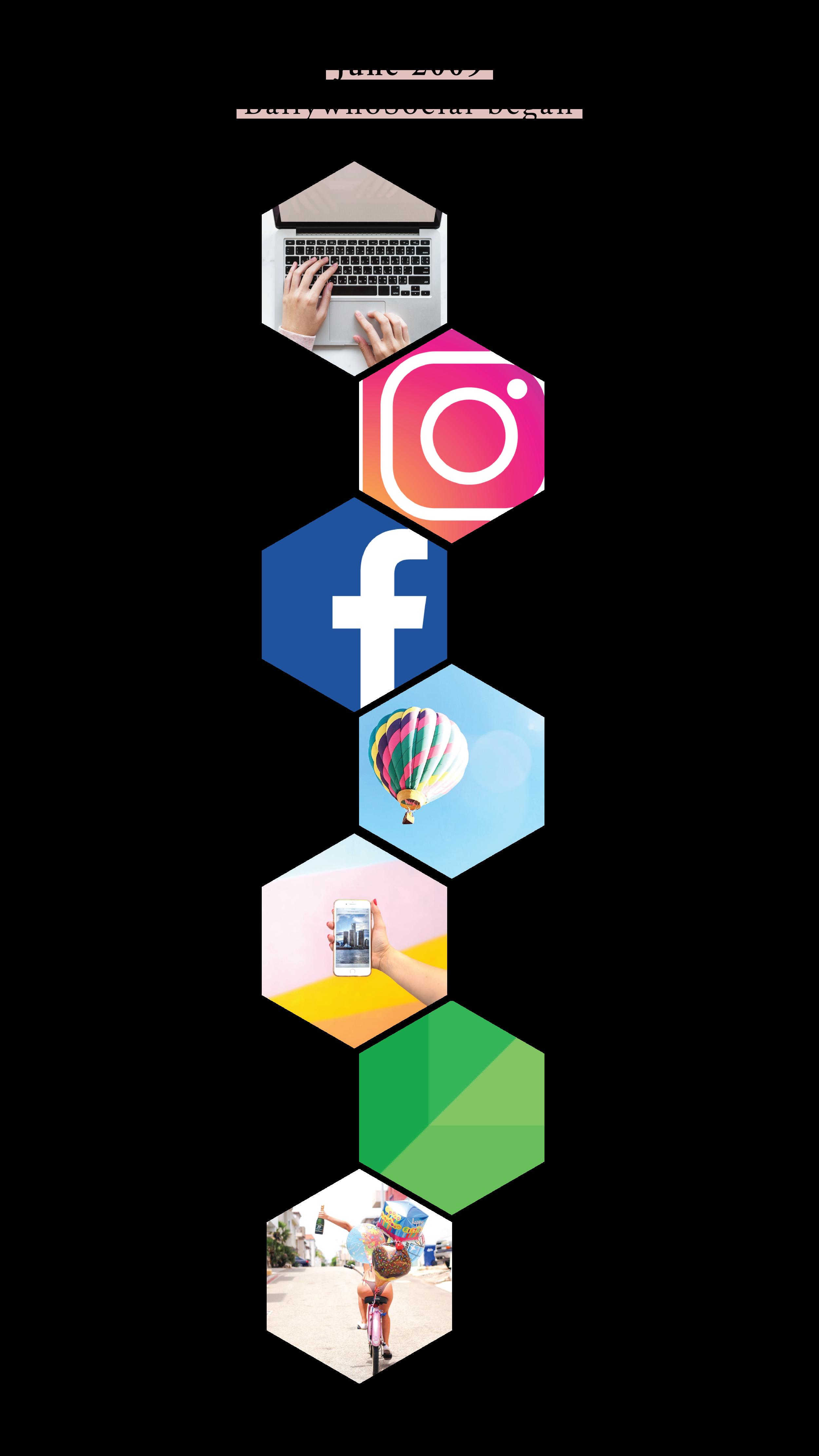 Ballywho-timeline-social-media-management-florida-charleston-instagram-facebook-history-linkedin