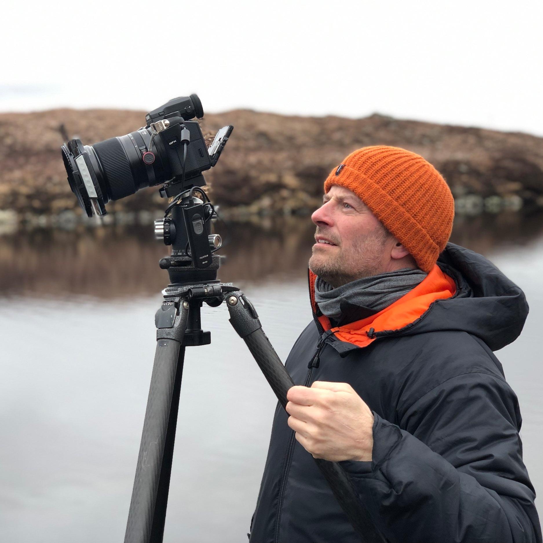 Paul Sanders landscape photographer, mindful photography expert