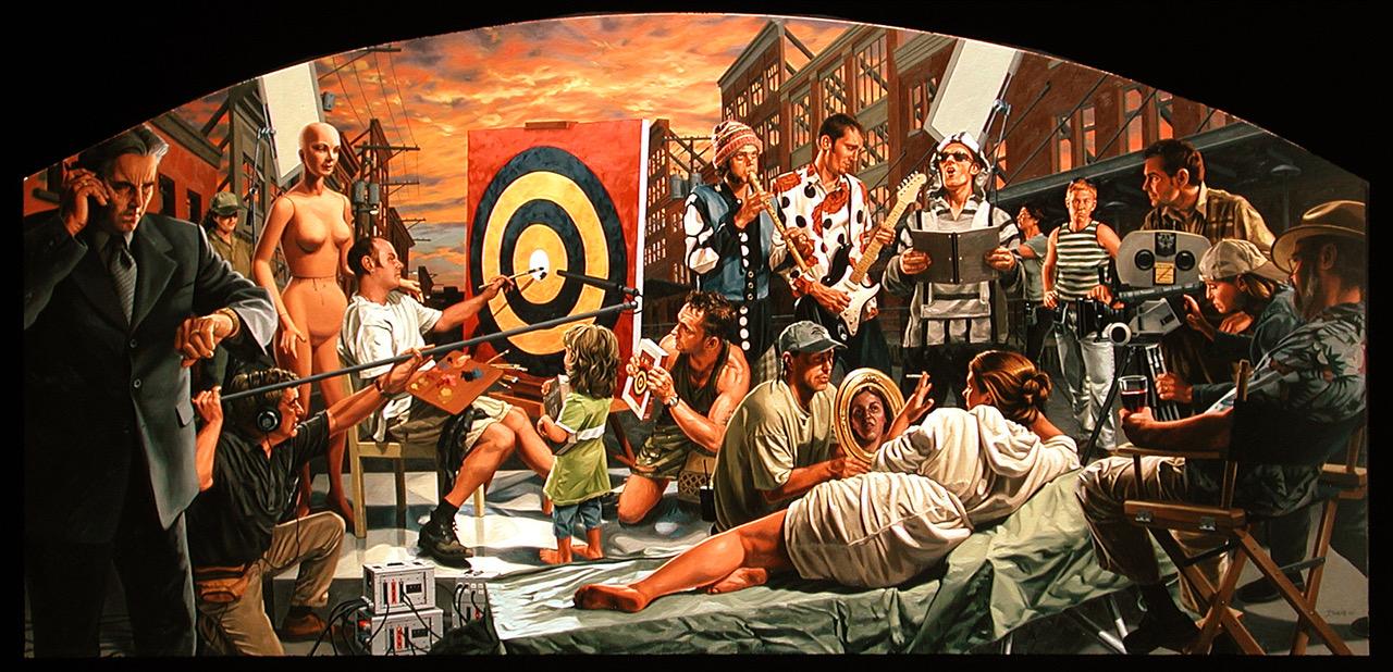 Performance+Art+(commission)+2004+Oil+on+Canvas+36_x60_.jpeg